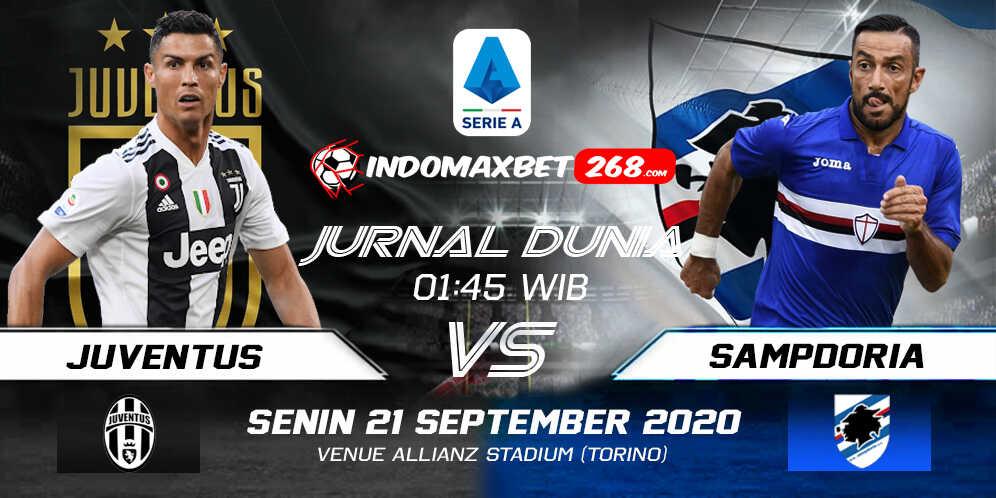 Prediksi Juventus Vs Sampdoria 21 September 2020 Pukul 01.45 WIB