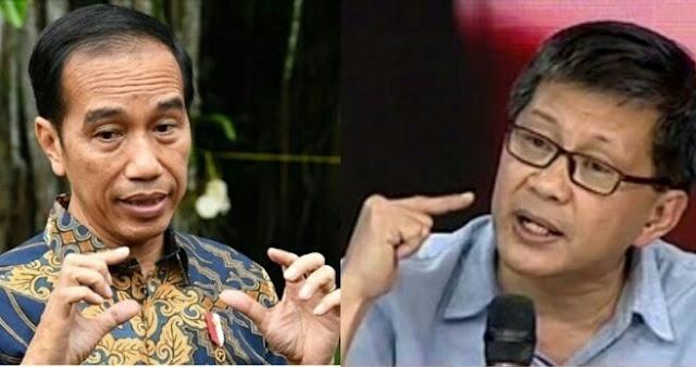 Jokowi Jamin Ibu Kota Baru Bebas Banjir, Rocky Gerung Sebut Harusnya Bencana di Jakarta Diatasi Dulu