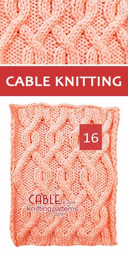Cable Knitting Free Stitch Pattern 16