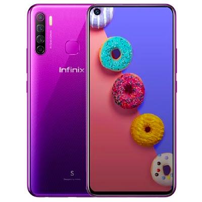هاتف إنفنيكس INFINIX S5  ثمن الهاتف إنفنيكس INFINIX S5 64GB  فتح علبة مراجعة كاملة