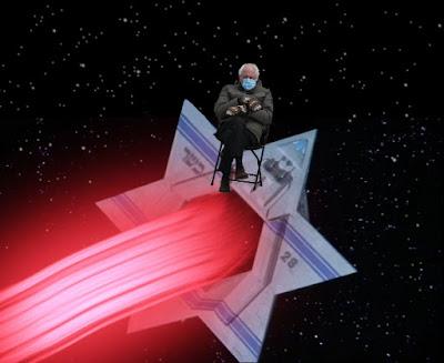 Jewish Space Laser Bernie
