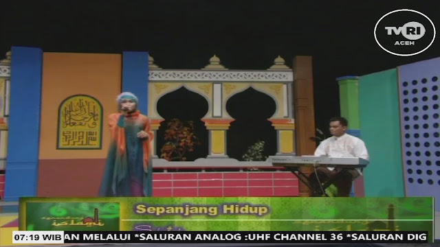 TVRI Aceh ,Frequency,