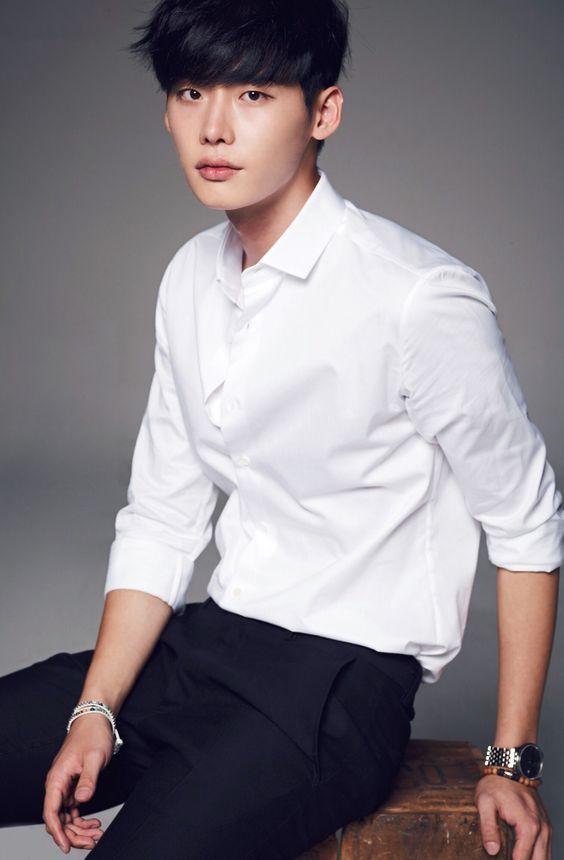 Lee Jong suk Black Haircolor