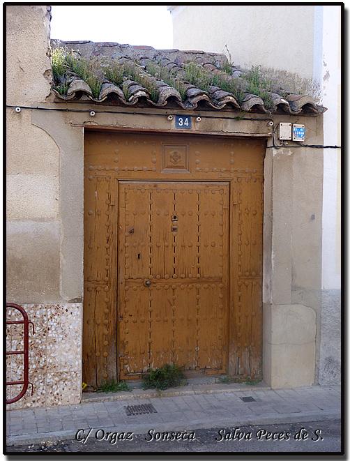Sonseca En El Zurr 243 N Y La Calle Orgaz De Sonseca Une