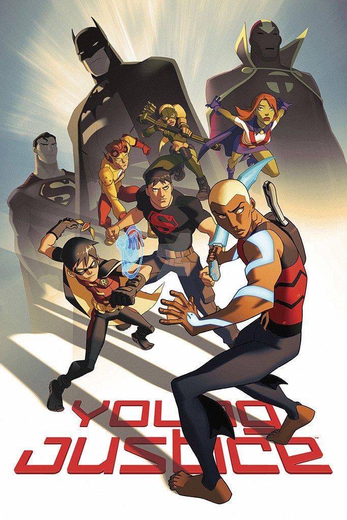 Young Justice Temporada 1 y 2 Dual Latino/Ingles 720p-1080p