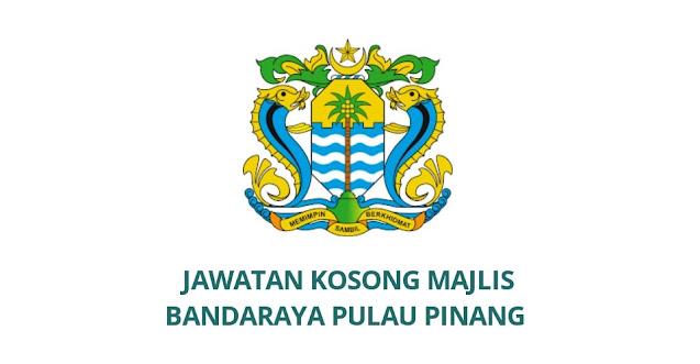 Jawatan Kosong Majlis Bandaraya Pulau Pinang 2021 (MBPP)
