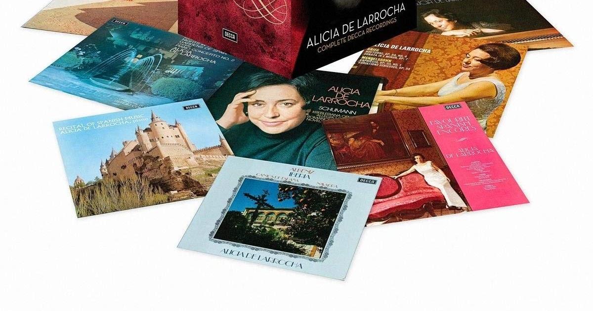 Classical music resources: Alicia de Larrocha Complete Decca