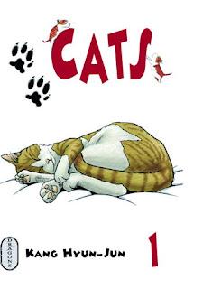 Cats de Hyun-Jun Kang; cats; hyun jun kang; manga; seoul; seoul cultura; milan; dragon; 2003; 2006; bdocube; bedeocube