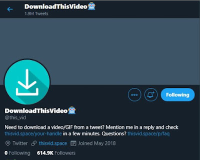 DownloadThisVideo on Twitter