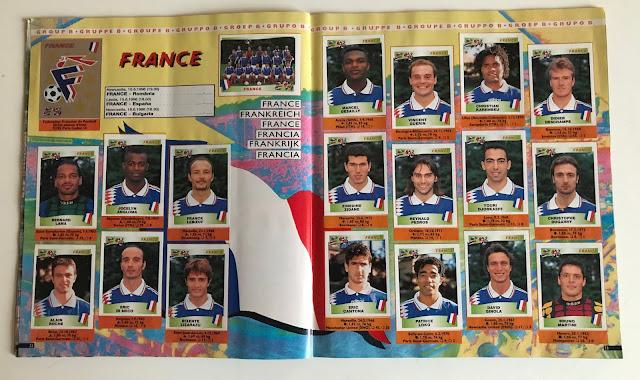 Figurine Francia Euro 96