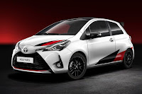 Toyota Yaris High Performance Prototype (2017) Front Side