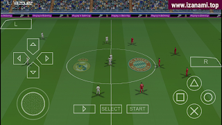 (500 Mo) PES 2021 Real Madrid Edition - Caméra PS4 hors ligne PPSSPP sur Android