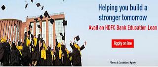 HDFC Bank Education Loan | Education Loan for Indian Education