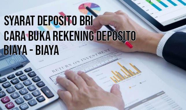 Syarat Deposito BRI