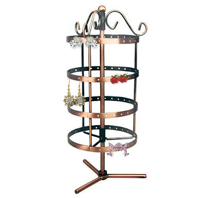 Metal Wire Rotating Earring Display Stand from Nile Corp