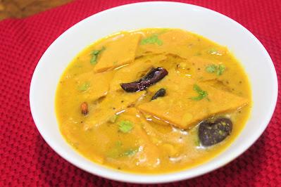 Dal Dhokli Gujarati Dish