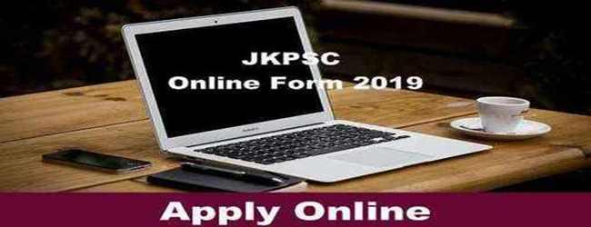 JKPSC Fresh Jobs Notification 2019