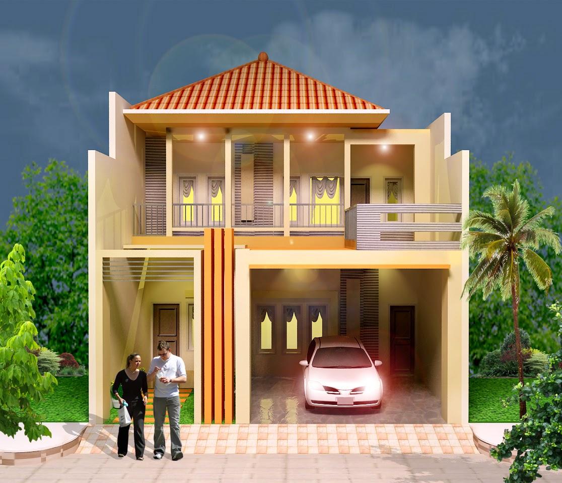 Konsep Warna Cat Rumah Minimalis Sederhana 2 Lantai Inspirasi