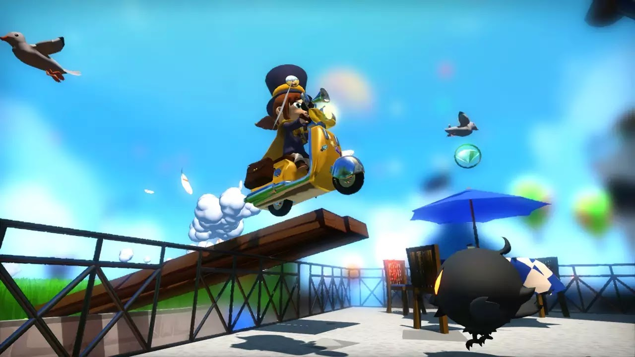 A Hat in Time game images