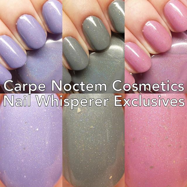 Carpe Noctem Cosmetics The Inner Superheroine Nail Whisperer Exclusives