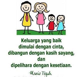 Kata Kata Indah Buat Keluarga Tercinta