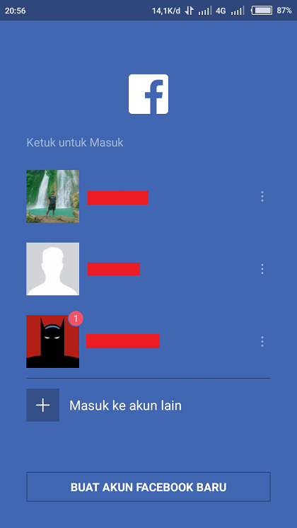 Multiple Facebook Account