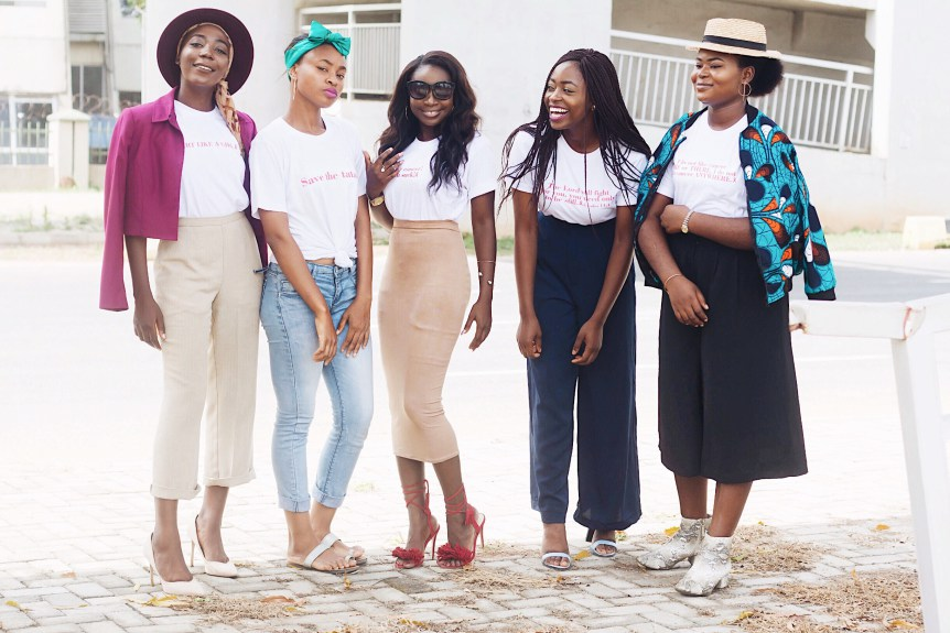 SAVE THE BOOBIES | NIGERIAN BLOGGERS FOR BREAST CANCER -  Breast Cancer Awareness Month by Nigerian Fashion Bloggers