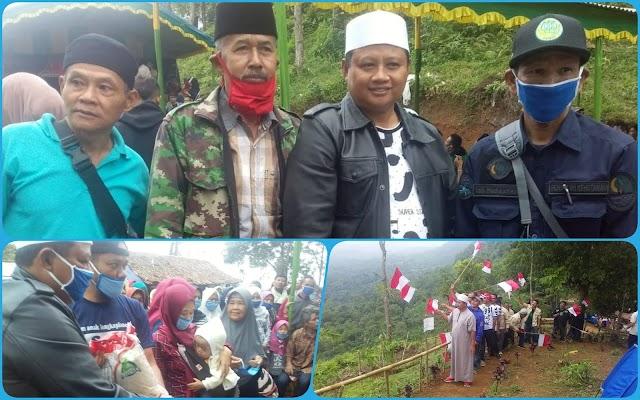 Wagub Jabar Kemping di Puncak Uu dan Silaturahmi dengan Warga Desa Bojongkondang