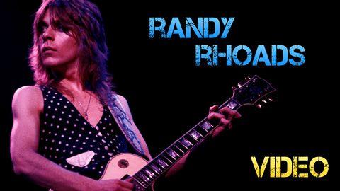 Biografía y Equipo de Randy Rhoads