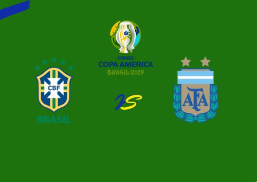 Brasil vs Argentina  Resumen & Partido Completo