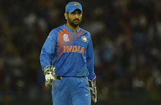Mahendra Singh Dhoni Retires from International cricket on 15 August 2020