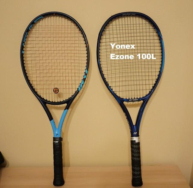 Yonex Ezone 100L 2020 edition - first impressions