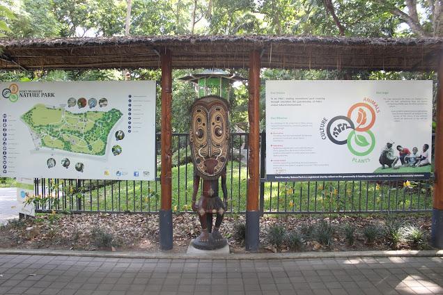 Port Moresby Map Nature Park