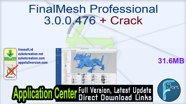FinalMesh Professional 3.0.0.476 + Crack