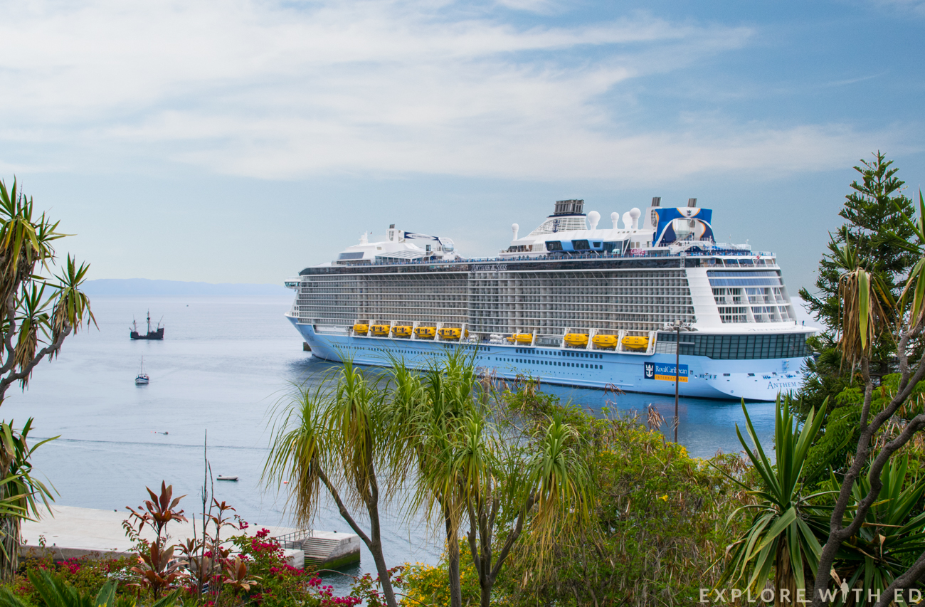 Anthem of the Seas, Funchal Madeira Cruise