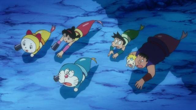Doraemon- Nobita và cuộc đại thủy chiến ở xứ sở người cá