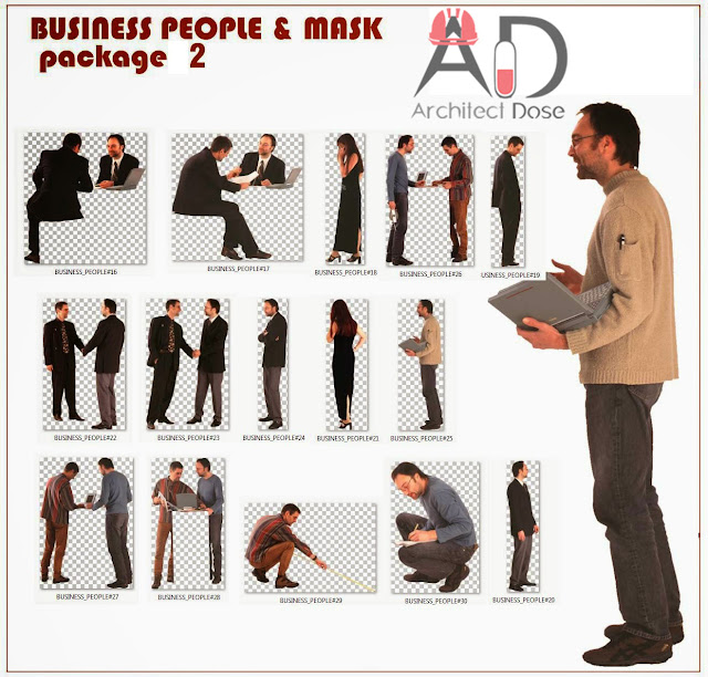 Photoshop Free CutOut - PNG Business People