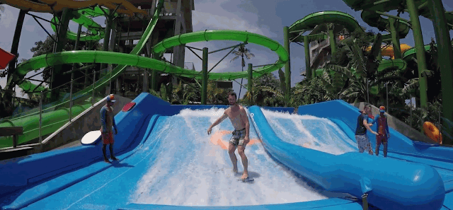 Flow Rider waterbom bali