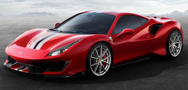 フェラーリ 488ピスタ Ferrari 488 PISTA