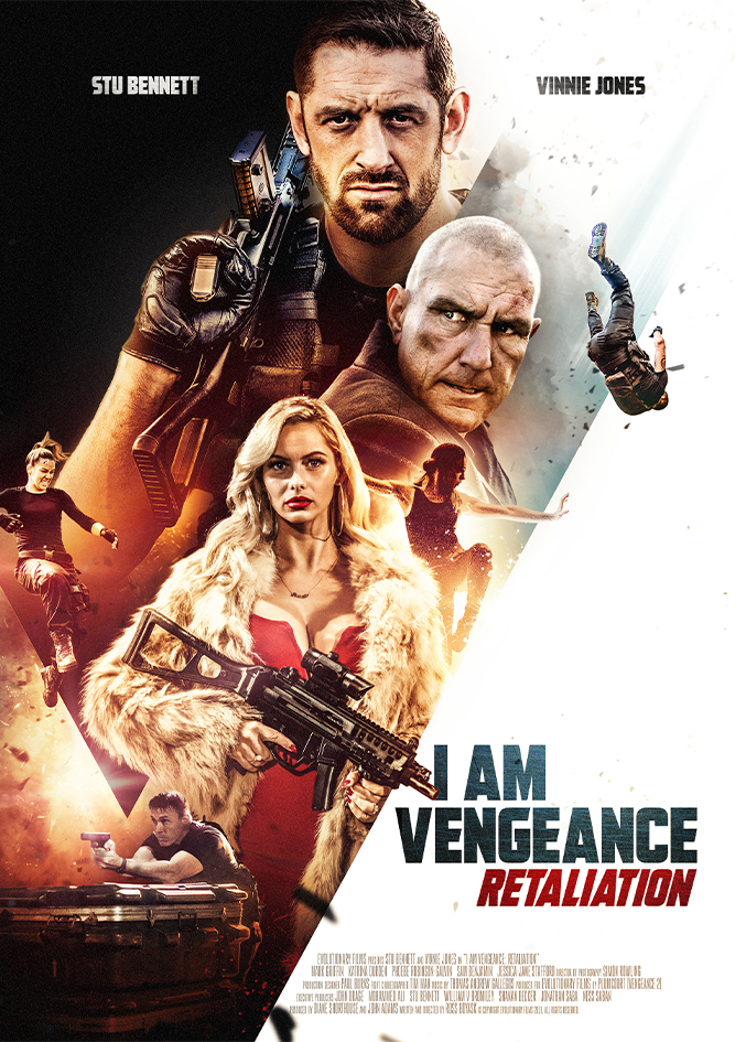I Am Vengeance Retaliation 2020 720p 700MB HDRip