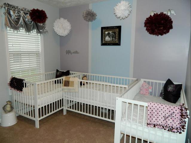 twin babies room decorating ideas