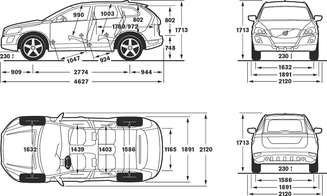 cockpit autom vel conte dos auto ensaio volvo xc60 drive 163 cv. Black Bedroom Furniture Sets. Home Design Ideas