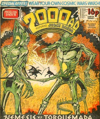 2000 AD prog 239, Nemesis the Warlock