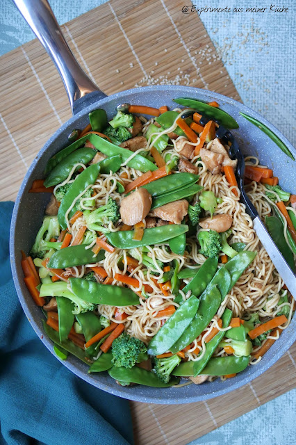 riyaki-Hähnchen-Pfanne | Rezept | Kochen | Essen | Weight Watchers