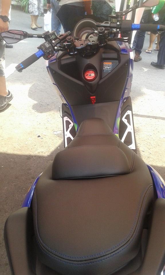 modifikasi yamaha nmax monster racing  urban style