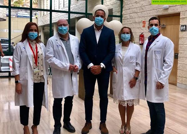 El Hospital General de La Palma pone en marcha la nueva consulta de Oncología Radioterápica
