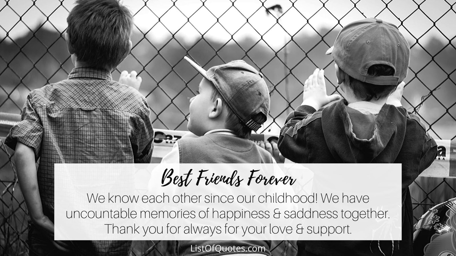 best ever friendship quotes for supportive childhood friends