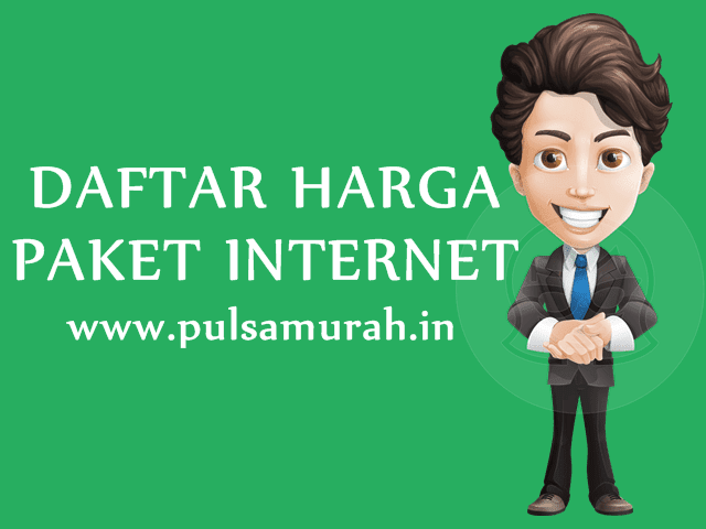 Daftar Harga Paket Internet Kuota Data Murah PulsaMurah.in