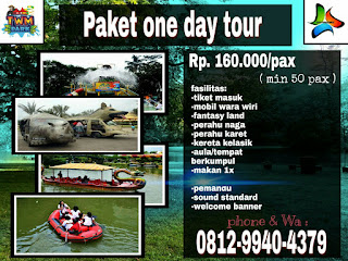 paket one day tour taman wisata matahari