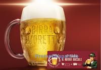 Logo Birra Moretti ti regala il nuovo Boccale come premio certo ! leggi l'anticipazione